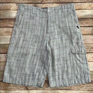 Vans Gray Print Shorts
